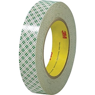 "3M Double Sided Masking Tape, 6.0 Mil, 1"" x 36 yds., Off White, 3/Case (T9554103PK)"