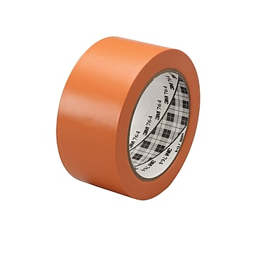 "3M™ 1"" x 36 yds. General Purpose Solid Vinyl Safety Tape 764, Orange, 6/Pack"
