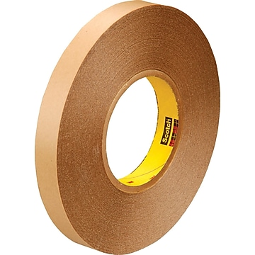 """3M™ 1"""" x 72 yds. Double Coated Film Tape 9425, Clear, 2/Pack,Size: med"""