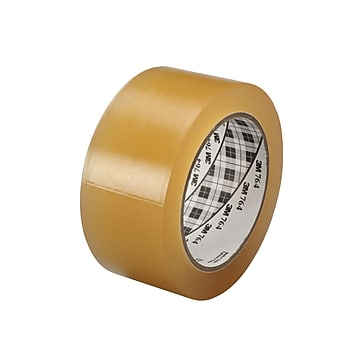 "3M™ 2"" x 36 yds. General Purpose Solid Vinyl Safety Tape 764, Clear, 6/Pack"