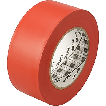 """3M™ 2"""" x 50 yds. Vinyl Duct Tape 3903, Red, 3/Pack"""