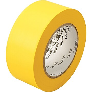 "3M™ 2"" x 50 yds. Vinyl Duct Tape 3903, Yellow, 24/Case"