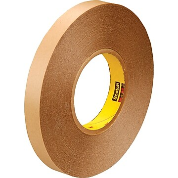 "3M™ 3/4"" x 72 yds. Double Coated Film Tape 9425, Clear, 2/Pack,Size: med"