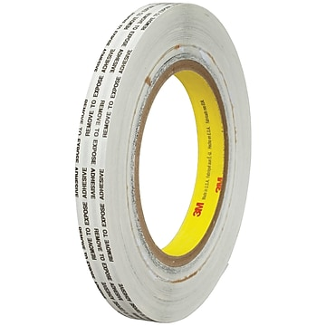 "3M™ 466XL Adhesive Transfer Tape, Hand Rolls, 1/2"" x 1000 yds., Clear, 1/Case (T9634661PK)"