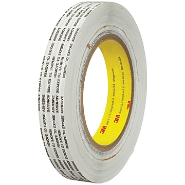 "3M™ 466XL Adhesive Transfer Tape, Hand Rolls, 3/4"" x 1000 yds., Clear, 1/Case (T9644661PK)"
