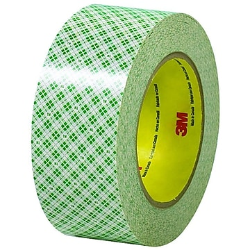 "3M™ Double-Sided Masking Tape, 3 Pack, 2""x36 Yds."