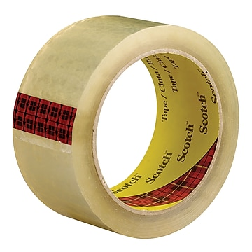 "3M™ Scotch 3743 Carton Sealing Tape, 2"" x 55 yds., Clear, 6/Case (T90137436PK)"