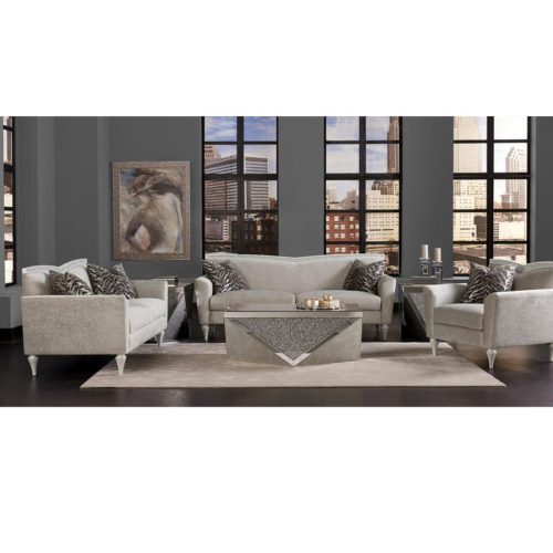 AICO Melrose Plaza Living Room Set by Michael Amini