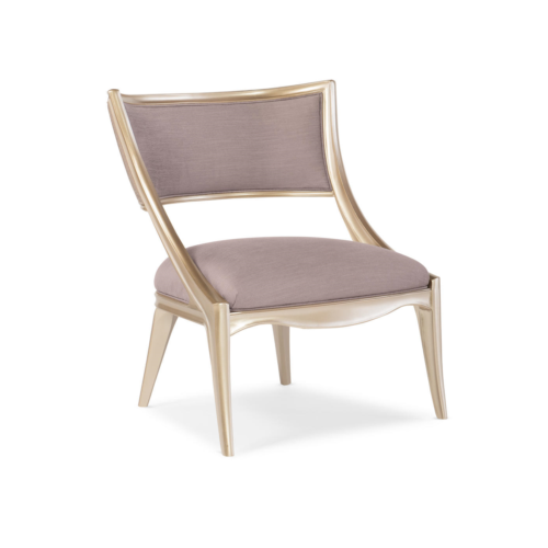 Caracole Compositions Adela Chair with Poly Foam Cushion