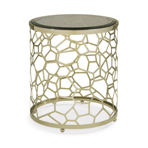 Caracole Crushed Ice End Table