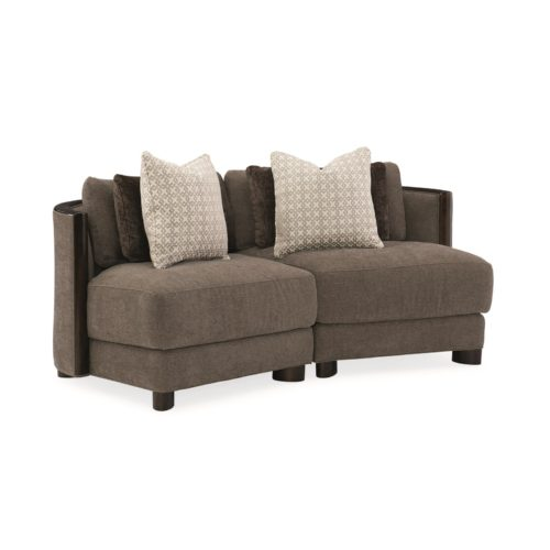 Caracole Modern Streamline Commodore Chair Sectional