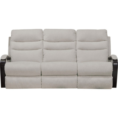 Catnapper Jansen Power Lay Flat Reclining Sofa in Shell