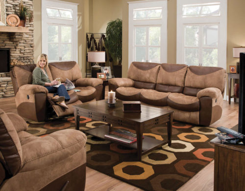Catnapper Portman Reclining 3 Piece Living Room Set