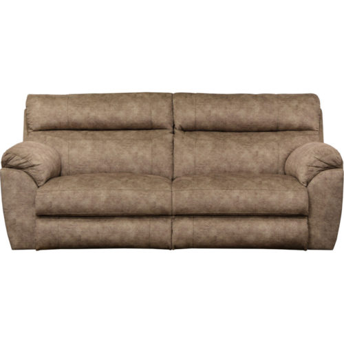 Catnapper Sedona Power Headrest with Lumbar Power Lay Flat Reclining Sofa in Mesa