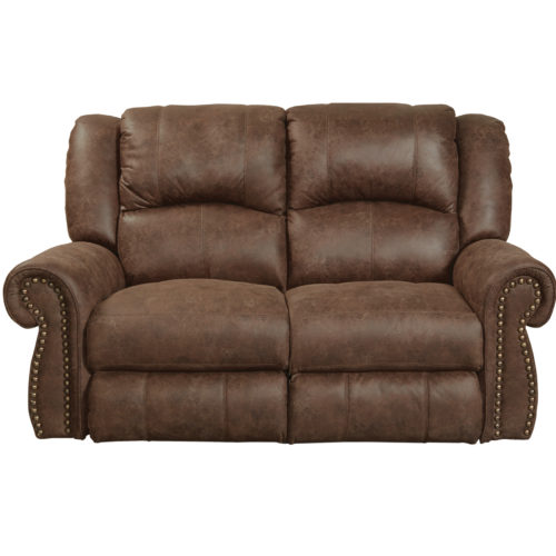 Catnapper Westin Power Reclining Loveseat in Tanner