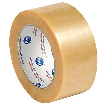 """Intertape 2"""" x 55 yds. x 2.2 mil #530 Carton Sealing Tape, Clear, 6/Pack,Size: large"""