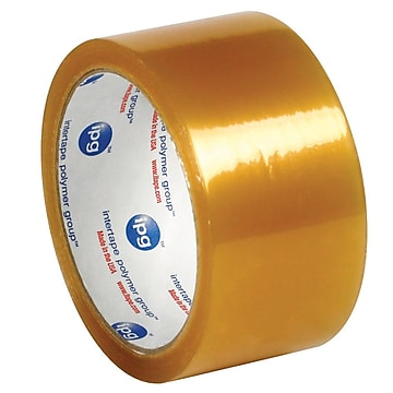"Intertape 2"" x 55 yds. x 2.9 mil #520 Carton Sealing Tape, Clear, 6/Pack,Size: large"