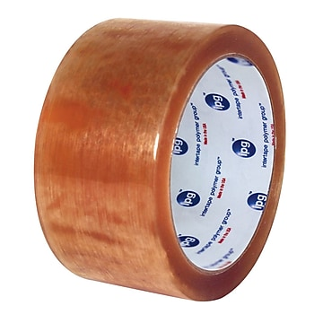 "Intertape 520 Premium 2""W x 55 Yards Carton Sealing Tape, Clear, 36 Roll (N8313),Size: large"