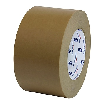 Intertape 96mm x 54.8m Utility Grade Flatback Tape, Brown, 12 Roll