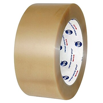 """Intertape Industrial Plus 2"""" x 110 yds. PVC Carton Sealing Tape, Clear, 36 Roll,Size: med"""