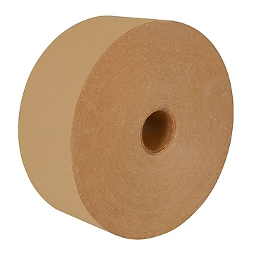 """Intertape Kraft Convoy 1"""" x 500' GSO Light Duty Gum Side Out Paper Tape, Natural, 30 Roll (K03713)"""