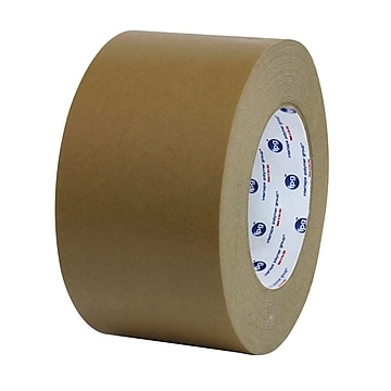 Intertape PM2 24mm x 54.8m Medium Grade Paper Flatback Tape, Tan, 36 Roll