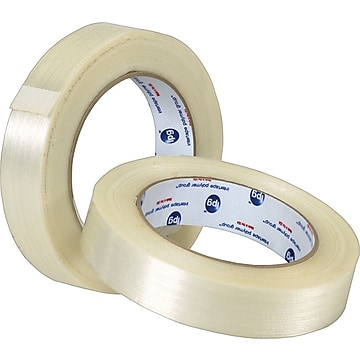 "Intertape RG315 Medium Grade Filament Tape, 1"" x 60 yds., 12/Pack"