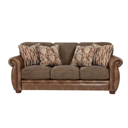 Jackson Pennington Queen Sleeper Sofa in Bark