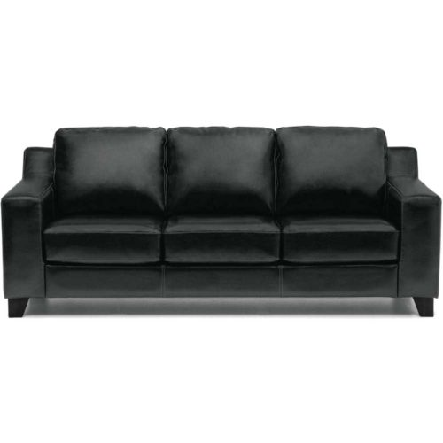 Palliser Leather Reed Sofa