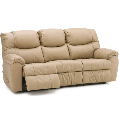 Palliser Leather Regent Reclining Sofa