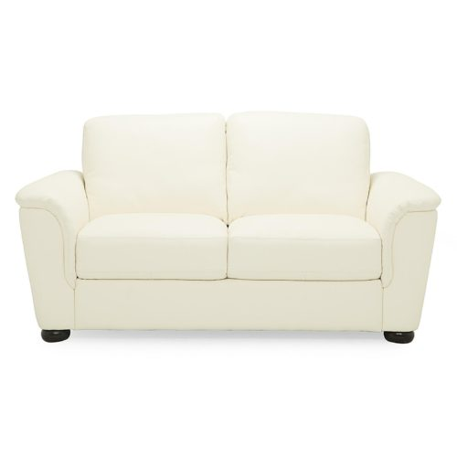 Palliser Lyon Loveseat in Broadway Match Alabaster