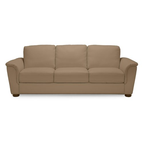 Palliser Lyon Sofa in Broadway Match Mink