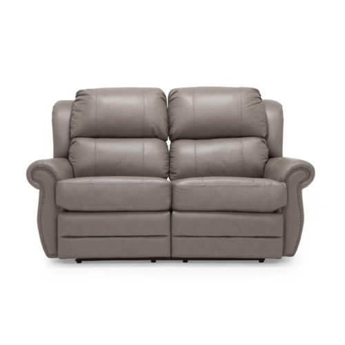Palliser Michigan Reclining Loveseat in Classic Sable