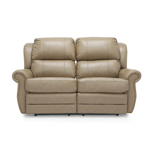 Palliser Michigan Reclining Loveseat in Classic Sandstone