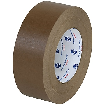 "Partners Brand Industrial 534 Flatback Tape, 2"" x 60 yds., Brown, 6/Case (T9475346PK)"