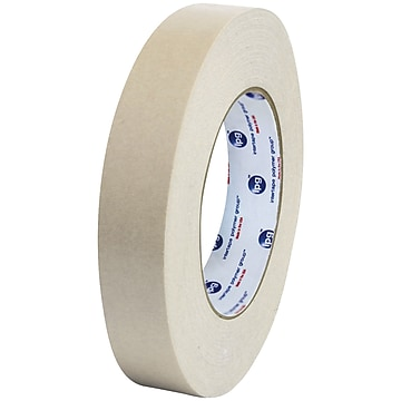 """Partners Brand Industrial 538 Flatback Tape, 1"""" x 60 yds., Natural, 6/Case (T9455386PK)"""