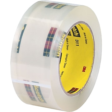 "Scotch #311 Acrylic Packing Tape, 3"" x 110 yds., 24 Rolls (TCS3T905311),Size: med"