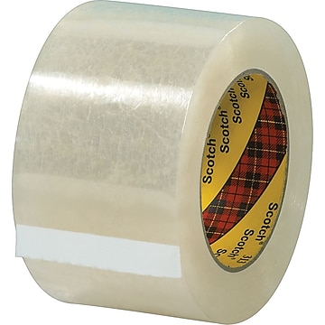 "Scotch #313 Acrylic Packing Tape, 3"" x 55 yds., 24/Pack"