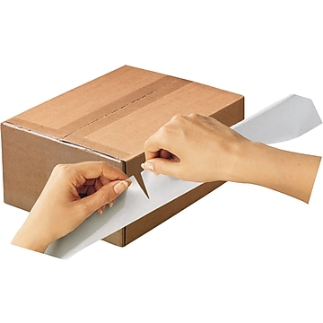 """Scotch Tear By Hand Mailing Packing Tape, 1.88""""W x 50 Yards, Clear, 2 Rolls (3842-2)"""