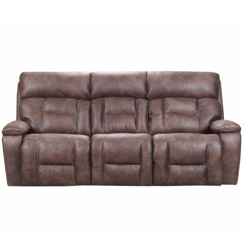 Simmons Upholstery by Lane Home Furnishings Dorado Walnut Double Motion Power Sofa