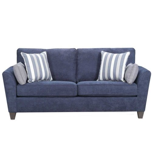 Simmons Upholstery by Lane Home Furnishings Prelude Navy Upholstered Queen Sleeper Sofa