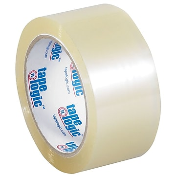 "Tape Logic 2"" x 55 yds. x 3.5 mil Carton Sealing Tape, Clear, 6/Pk"