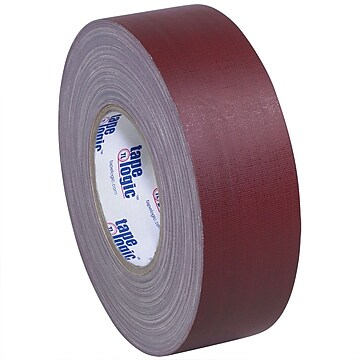 "Tape Logic 2"" x 60 yds. x 11 mil Gaffers Tape, Burgundy (Red), 24/Carton"