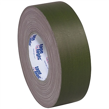 "Tape Logic 2"" x 60 yds. x 11 mil Gaffers Tape, Olive Green, 3/Pk"