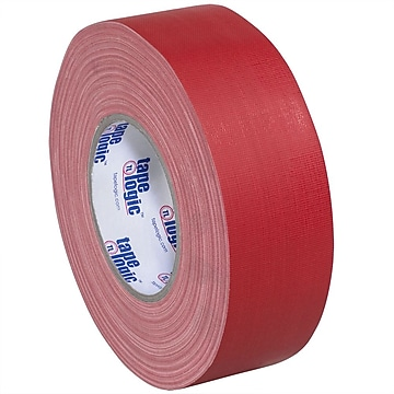 "Tape Logic 2"" x 60 yds. x 11 mil Gaffers Tape, Red, 24/Carton"