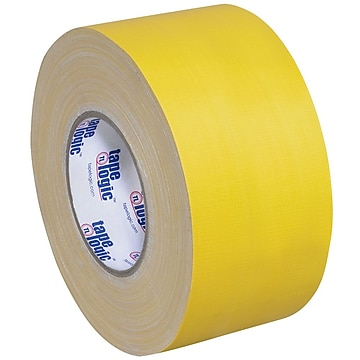 "Tape Logic 3"" x 60 yds. x 11 mil Gaffers Tape, Yellow, 3/Pk"