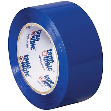"Tape Logic Carton Sealing Tape, 2.2 Mil, 2"" x 110 yds., Blue, 18/Case (T90222B18PK)"