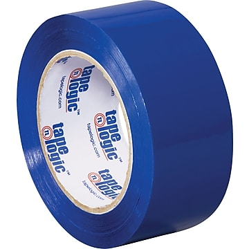"Tape Logic Carton Sealing Tape, 2.2 Mil, 2"" x 110 yds., Blue, 36/Case (T90222B)"