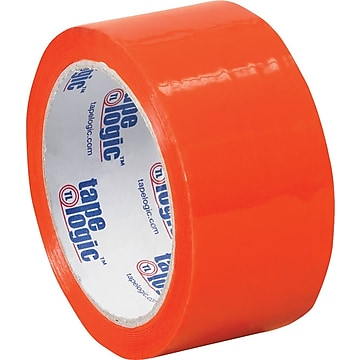 "Tape Logic Carton Sealing Tape, 2.2 Mil, 2"" x 55 yds., Orange, 36/Case (T90122O)"