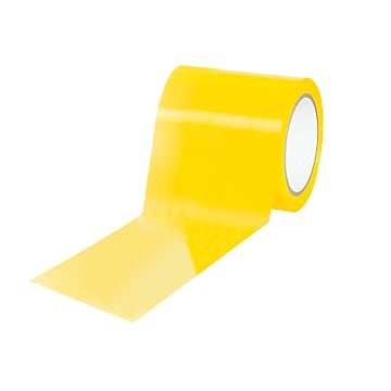 """Tape Logic Caution/Physical 4"""" x 36 yds. Hazard Vinyl Safety Tape, Yellow, 12/Pack (T9436Y)"""
